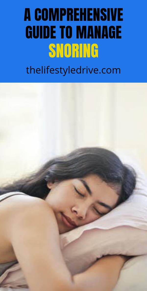Guide to Manage Snoring